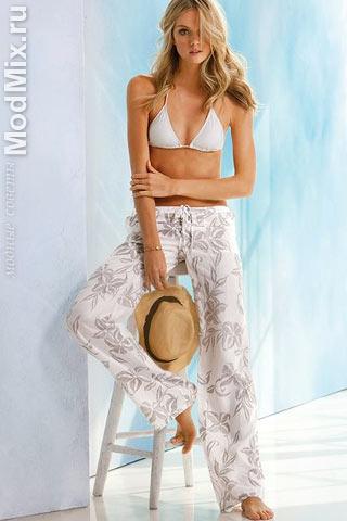 Модные брюки из коллекции Victoria's Secret