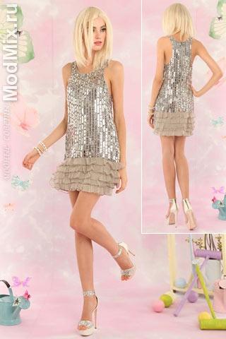 Модное платье в стиле 20-х годов из коллекции Alice and Olivia