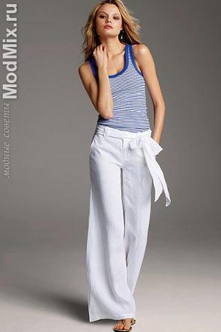 В морском стиле! Модный образ от Victoria's Secret