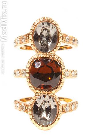 Модные кольца из коллекции CA&LOU