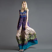 Модный сарафан Alberta Ferretti