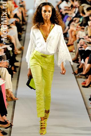 Фото из модной коллекции Oscar de la Renta