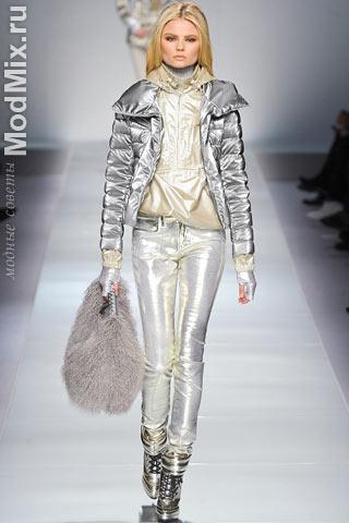 Модная блестящая одежда