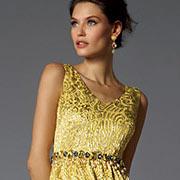 Модное вечернее платье из коллекции Dolce & Gabbana