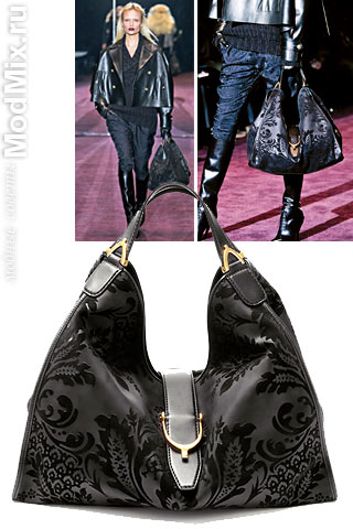 Сумка хобо из модной коллекции Gucci