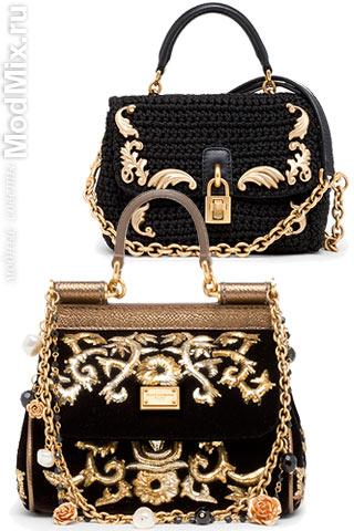 Модные сумки из коллекции Dolce & Gabbana