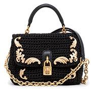 Вязаная сумка из коллекции Dolce & Gabbana