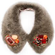 Накладной воротник из модной коллекции Marni