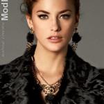 Модный мех и украшения из коллекции Dolce & Gabbana