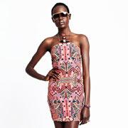 Модное платье в этническом стиле