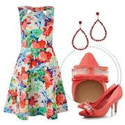 Цветочный принт - это модно