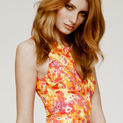 Платье в цветочек, Versace