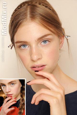 Маникюр и макияж от Валентино