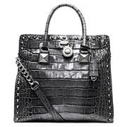 Стильная сумка из кожи под крокодила