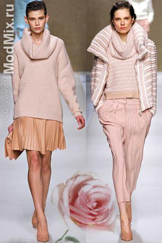Модный розовый цвет - пепел розы