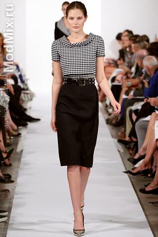 Модная одежда из коллекции Oscar De La Renta