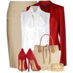 С чем носить красное?