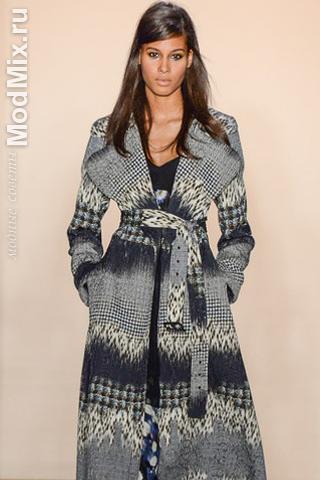 Пальто из коллекции Peter Som