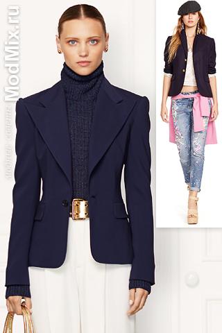 Синий пиджак от Ralph Lauren