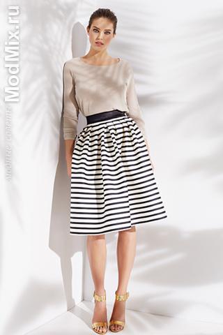Юбка в полоску из модной коллекции SuiteBlanco